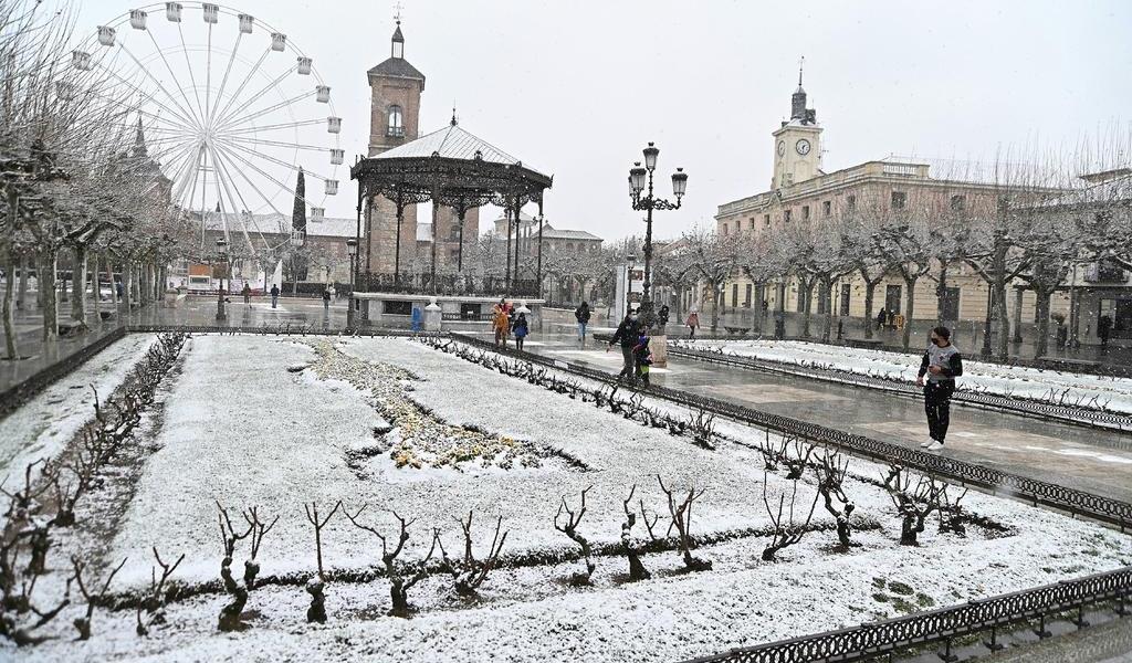 Frío y nevada sorprende a España con mínimas de 17 grados bajo cero