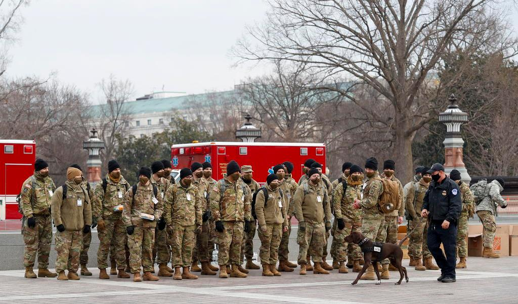 Mandará EUA 10 mil Guardias Nacionales a Washington D.C.