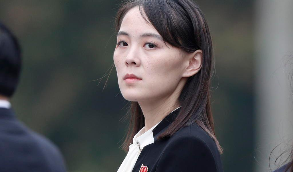 Hermana del líder norcoreano, Kim Jong-un, critica a fuerzas armadas de Corea del Sur