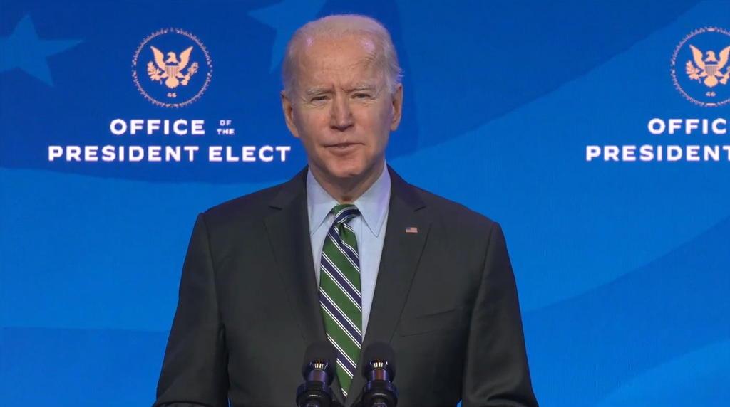 Apuesta Biden a discurso unificador en punto álgido de EUA