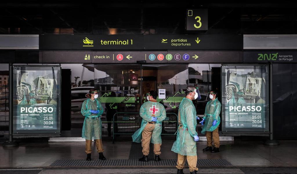 Suspende Portugal los vuelos con Brasil hasta el 14 de febrero
