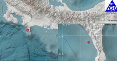 Sismo de 5.5 en el Pacífico causa apagones en Panamá