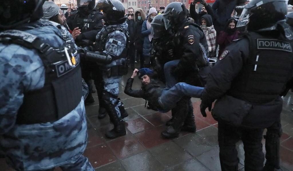 Seguidores de Navalni realizan nuevas protestas en Rusia