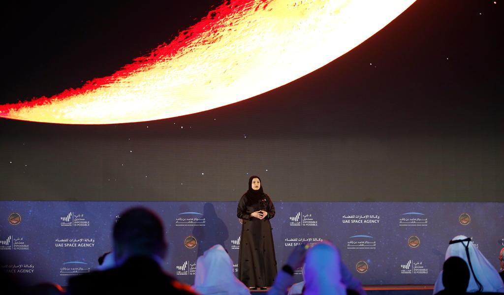 Sonda Hope logra entrar con éxito en la órbita de Marte