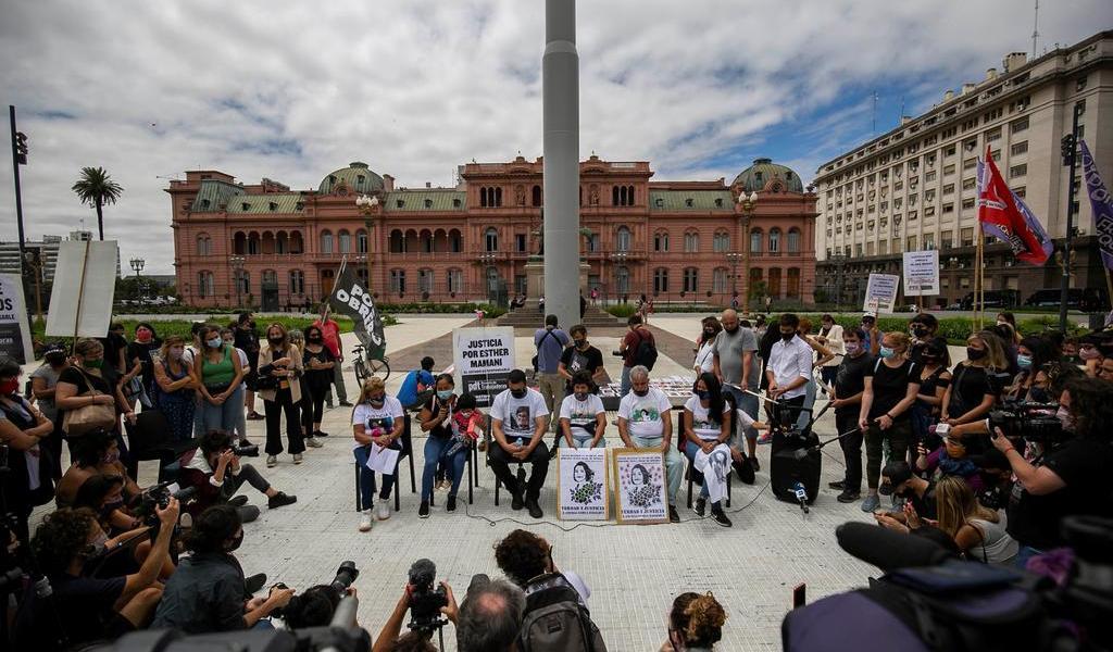 Marchan para exigir justicia contra la violencia machista en Buenos Aires
