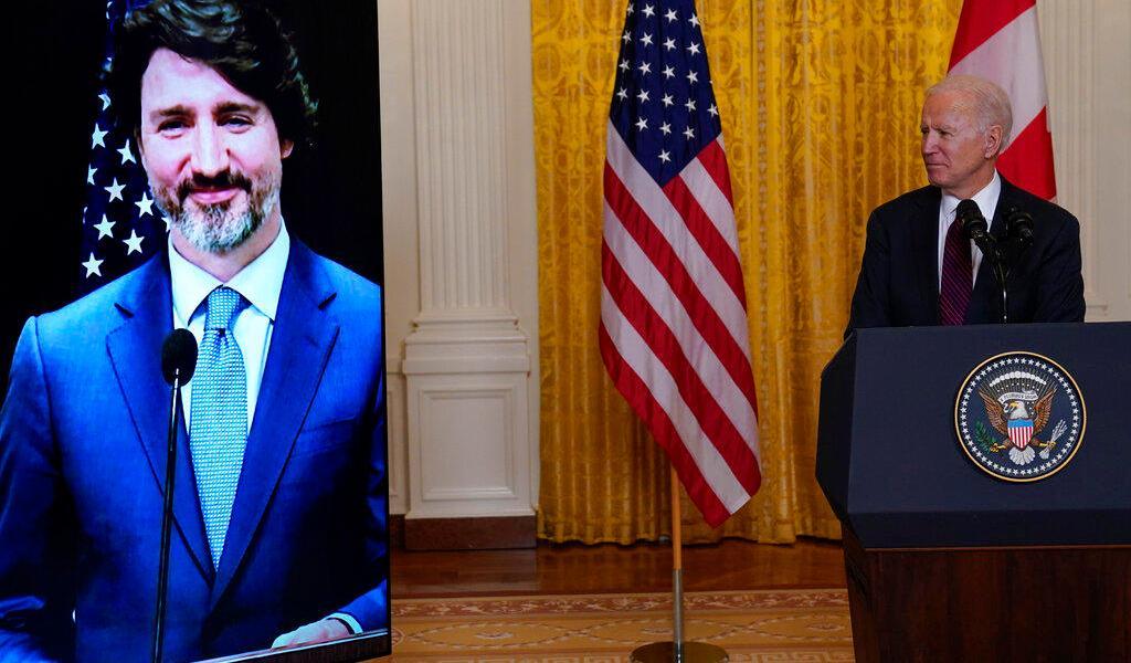 Joe Biden y Justin Trudeau forman frente común contra crisis climática