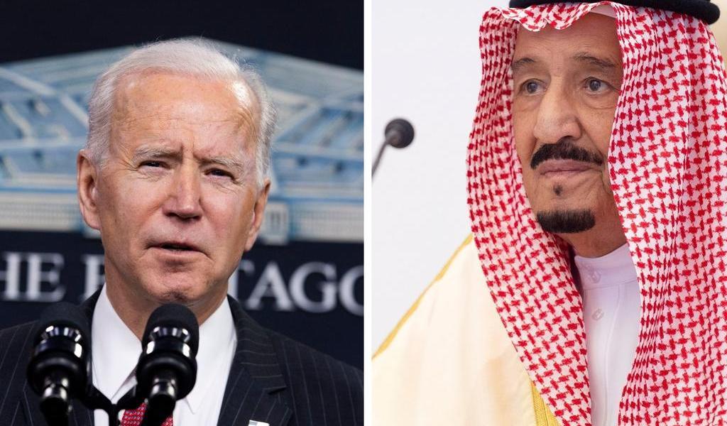Biden y el rey de Arabia Saudí hablan antes de publicar informe del asesinato de Khashoggi