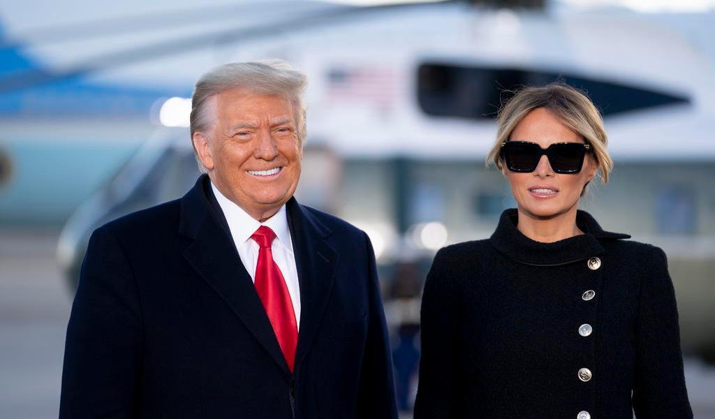 Donald Trump y Melania recibieron vacuna antiCOVID antes de dejar la Casa Blanca