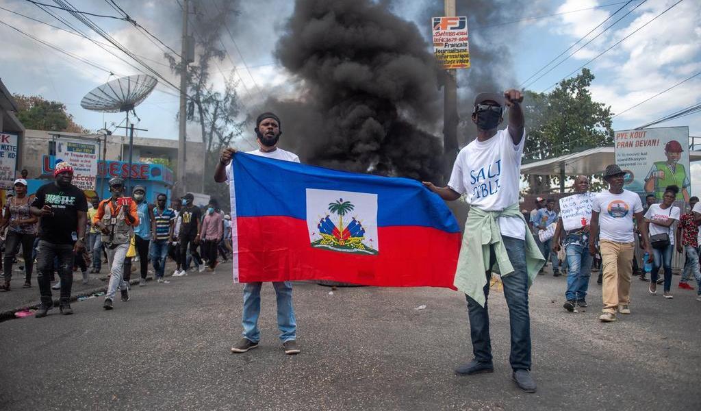 Buscará presidente de Haití apoyo de OEA frente a violencia