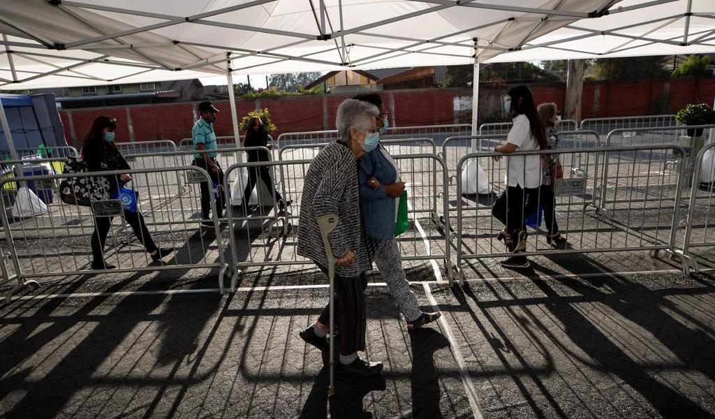 Reporta Chile cifra más alta de enfermos críticos de toda la pandemia
