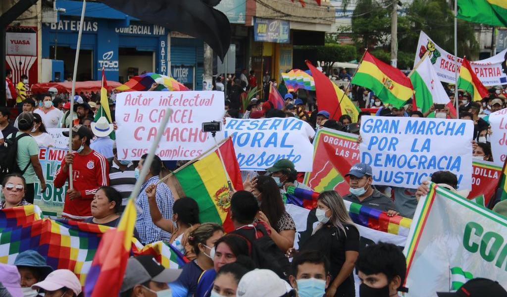 Bolivia, ante más marchas por detención de Áñez