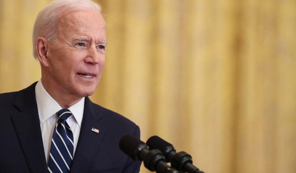 Anuncia Biden que tiene intención de presentarse a la reelección