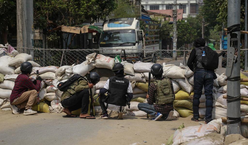Violencia en Birmania agrava la ilegitimidad del golpe: ONU