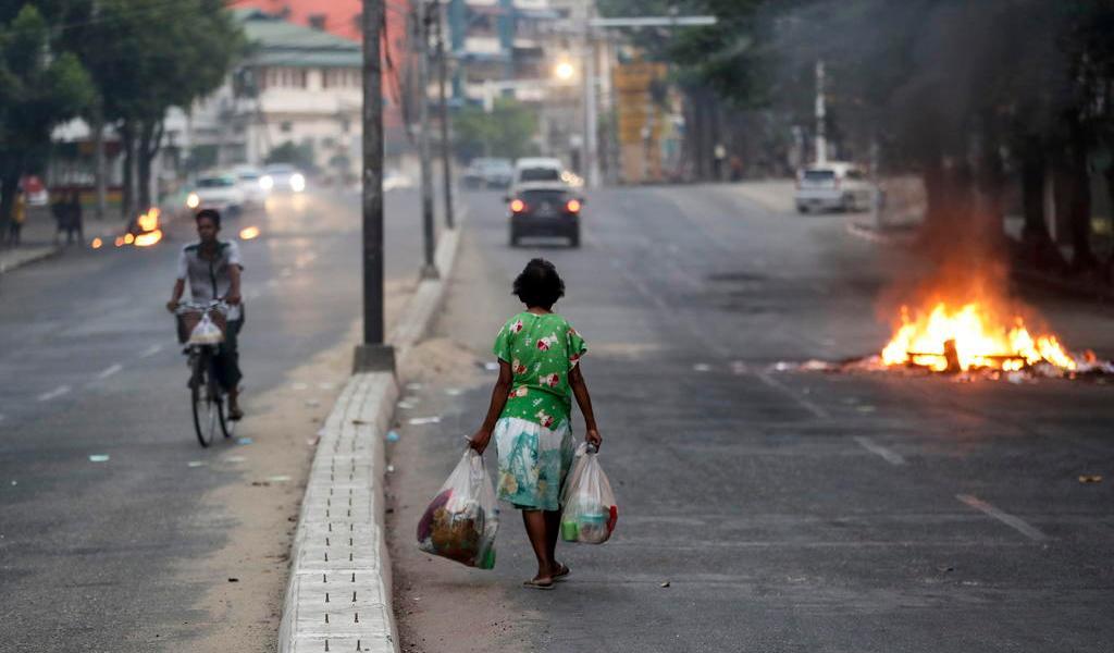 ONU advierte sobre de una guerra civil 'a escala sin precedentes' en Birmania