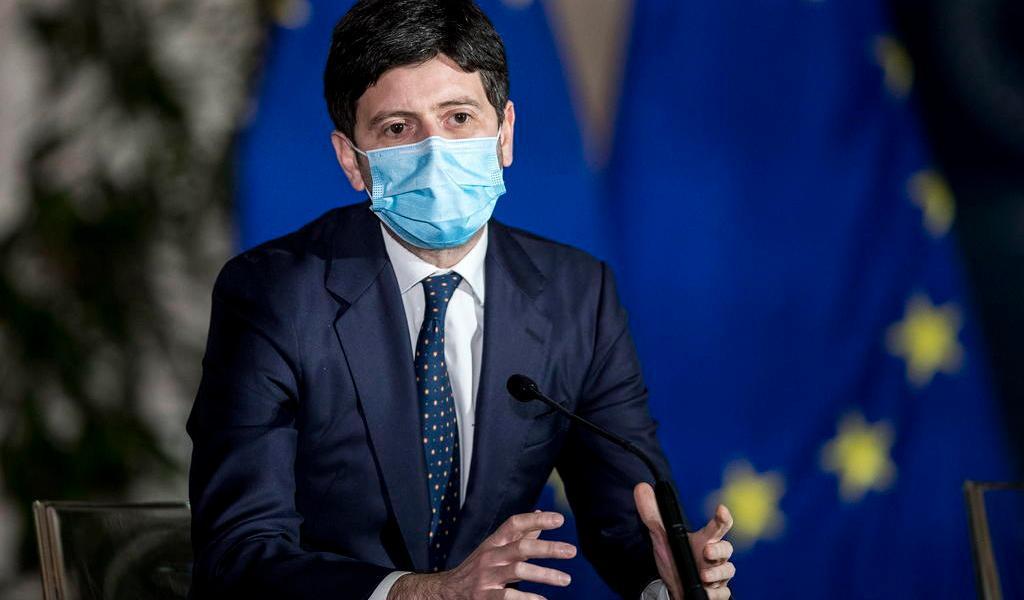 Amenazan de muerte al ministro de Salud de Italia por cuarentenas