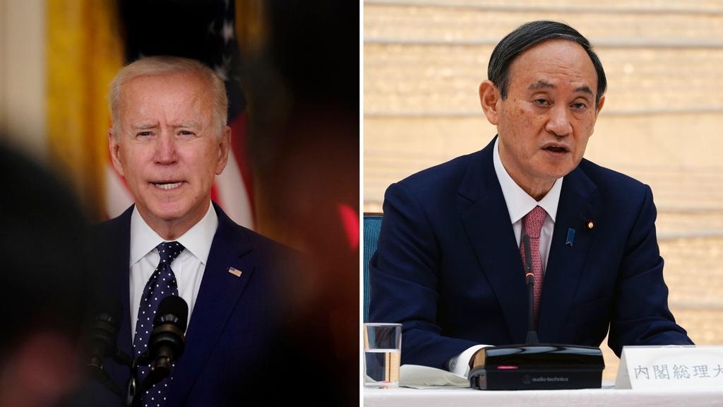 EUA y Japón enviarán una 'señal clara' a China durante reunión de Biden con Suga