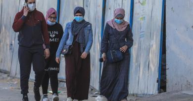 Sufre Gaza nuevo máximo de muertes por COVID desde inicio de pandemia
