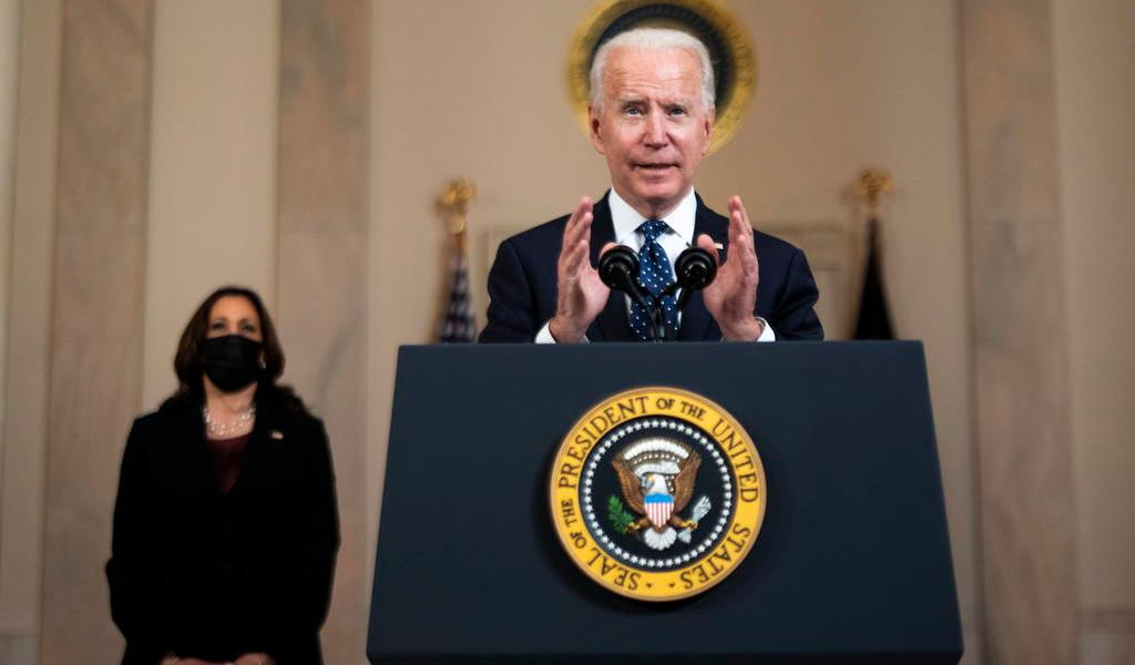 Biden ve caso de Floyd como 'un momento de cambio significativo' para reformar EUA