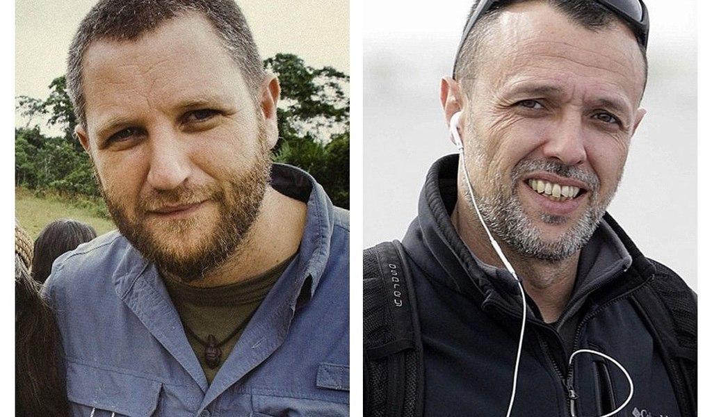 Matan a periodistas españoles e irlandés