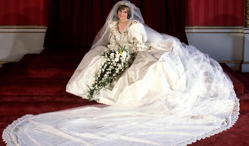 Vestido de novia de 'Princess Diana' será exhibido por primera vez