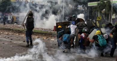 Cali, foco de protestas en Colombia