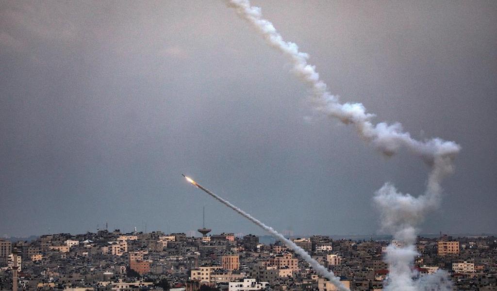 Reportan explosiones en Jerusalén por cohetes disparados desde Gaza