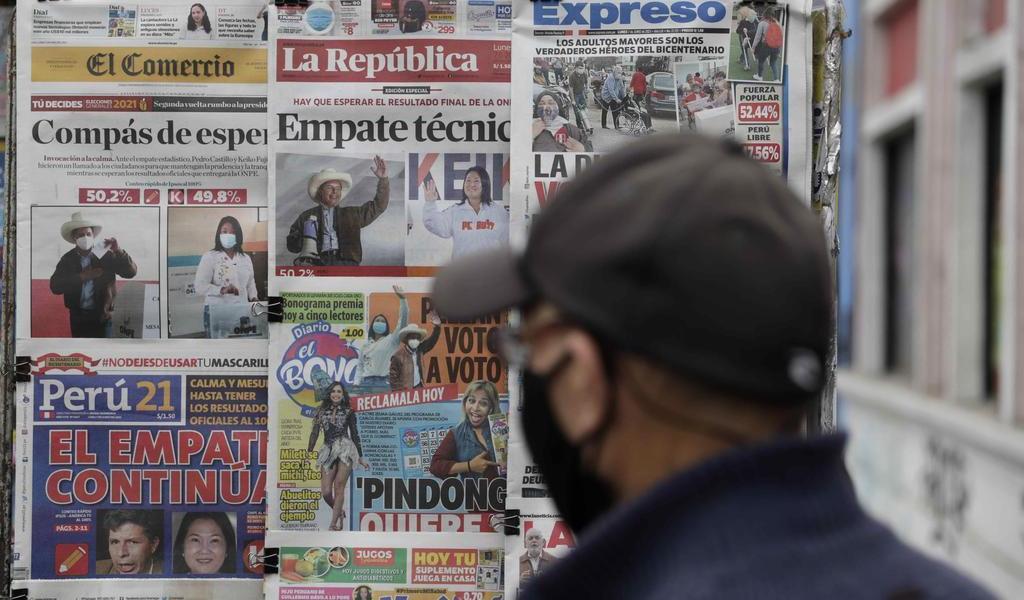 Cinco claves que deja la elección presidencial de Perú