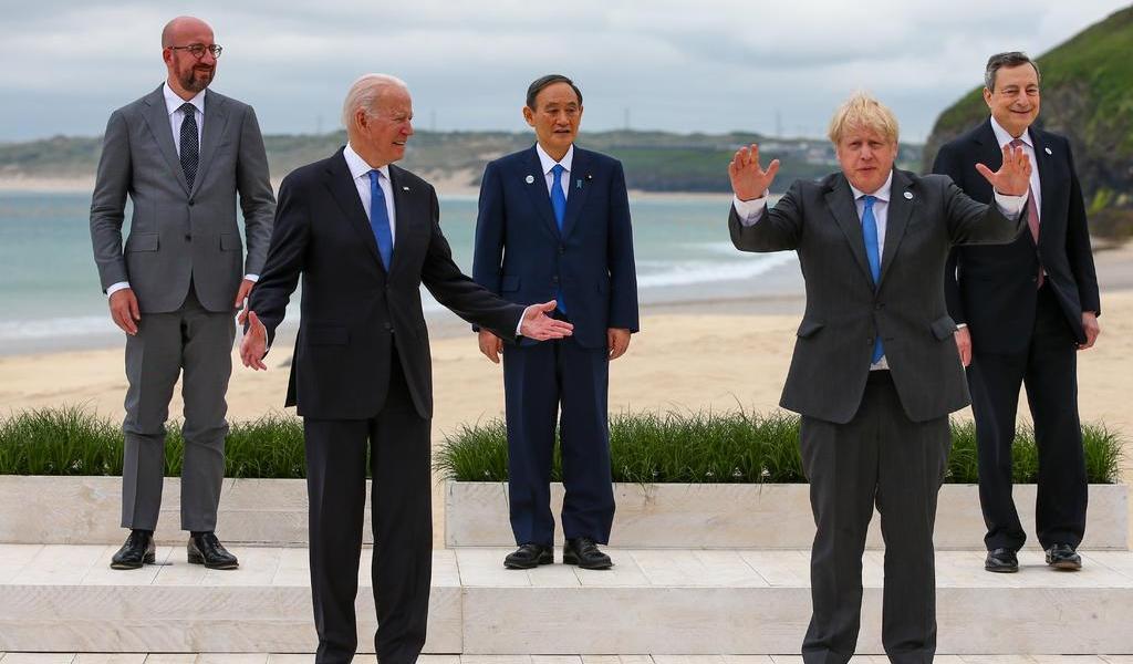 Carga G7 contra China en tema de comercio y derechos humanos