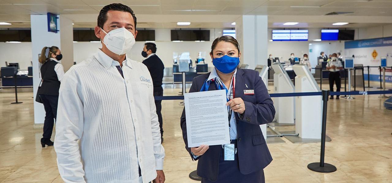 En Cozumel trabajamos conjuntamente para garantizar un retorno seguro a los viajeros de Estados Unidos que nos visitan: Pedro Joaquín