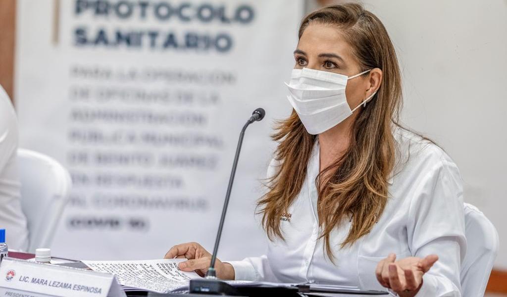 MARA LEZAMA ENCABEZA PRESENTACIÓN DE PROTOCOLO SANITARIO ANTE EL COVID- 19