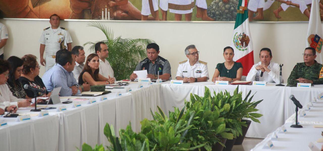 La Presidente Municipal  Mara Lezama, asistió a la Primera Sesión Extraordinaria del Consejo Estatal de Protección Civil e Instalación de Comité Transitorio del Fenómeno Sanitario-Ecológico del COVID-19