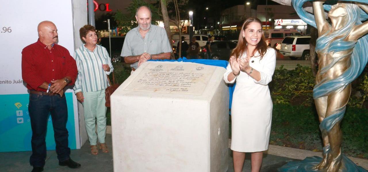Inaugura Mara Lezama importantes obras para la recuperación de espacios públicos y a favor de un Cancún más seguro