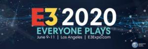 Convención mundial de videojuegos E3 2020 se cancela por Covid-19