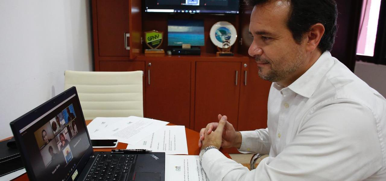 Fortalece Pedro Joaquín lazos de colaboración con la UNESCO, a fin de impulsar el turismo cultural en Cozumel
