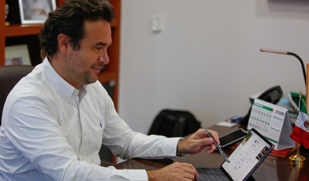 """Con la campaña """"¡Ahorra en línea!"""", contribuye Gobierno de Pedro Joaquín en la economía de las familias de Cozumel"""