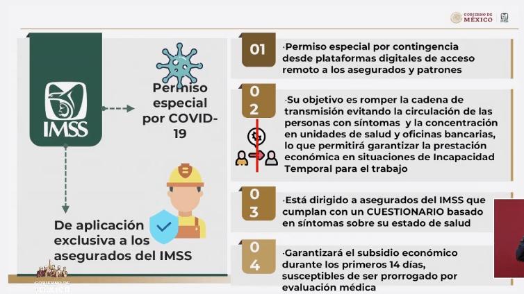 Cómo obtener el permiso especial de incapacidad del IMSS por COVID-19