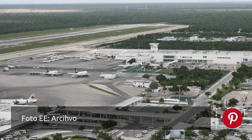 Aeropuerto de Cancún reforzará medidas sanitarias para vuelos procedentes de Reino Unido
