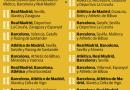 Real Madrid y Barcelona, fracasan en Copa del Rey