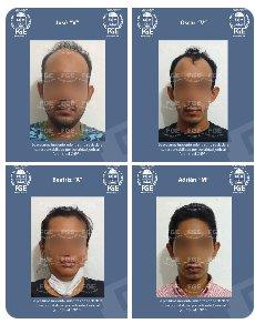 Captura FGE a cinco personas imputadas por homicidio en grado de tentativa