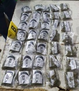 Detienen a 6 con droga en local vinculado a El Lunares