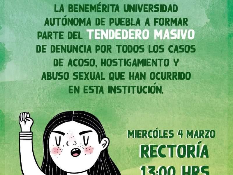 Suspenden estudiantes de la BUAP actividades administrativas