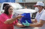 Eddy Reynoso reparte despensas a gente más necesitada de Jalisco