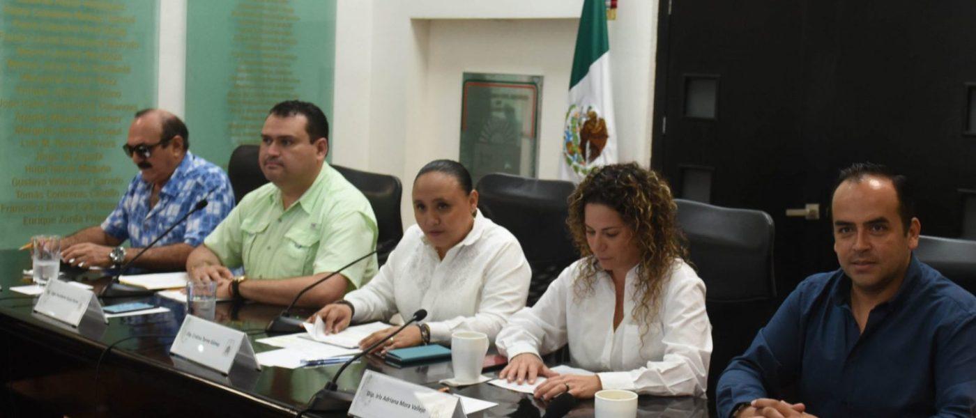 Analizarán en comisiones iniciativas en materia de vivienda y medio ambiente