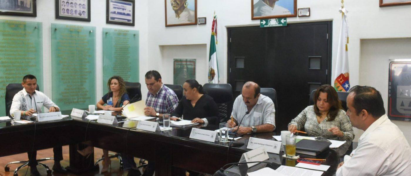 Analizarán en comisiones diversas iniciativas presentadas por legisladores