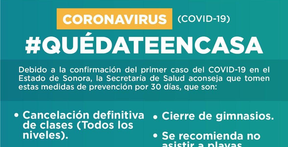 Ordenan cierre de antros, cines y gimnasios en Sonora por Covid-19