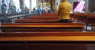 Por Covid-19, registra Catedral Metropolitana 17 asistentes a misa