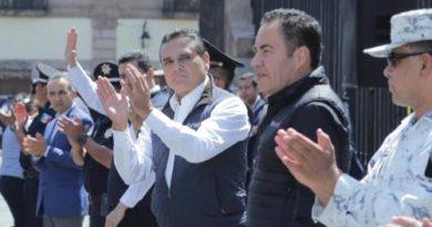 Michoacán suma 85 patrullas en apoyo a la población frente a COVID-19