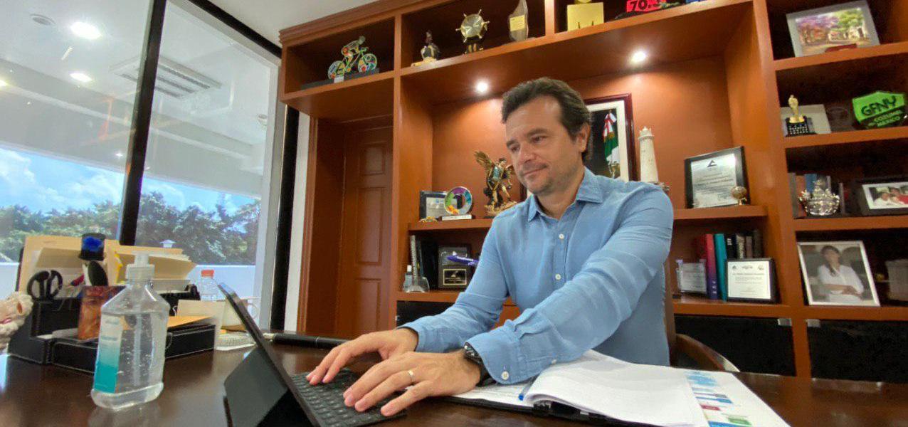 Destaca Pedro Joaquín el papel fundamental de la población en el respeto de las medidas sanitarias contra el Covid-19