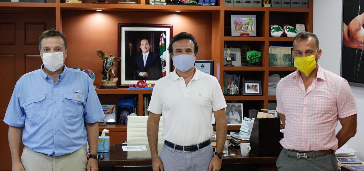 En conjunto con el Gobierno Federal, promueve Pedro Joaquín inversiones y generación de empleos en Cozumel