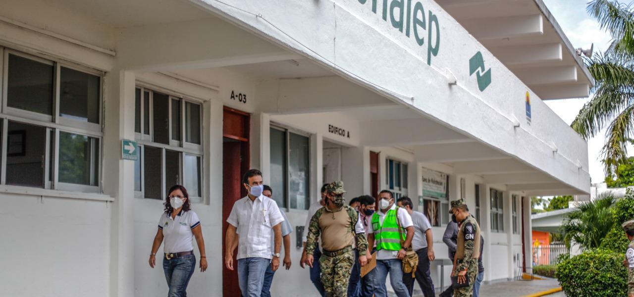 Destaca Pedro Joaquín cultura de prevención de la gente de Cozumel ante fenómenos hidrometeorológicos